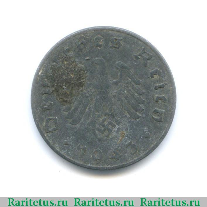 10 пфеннигов 1943 года цена монета сокол сапсан 2006