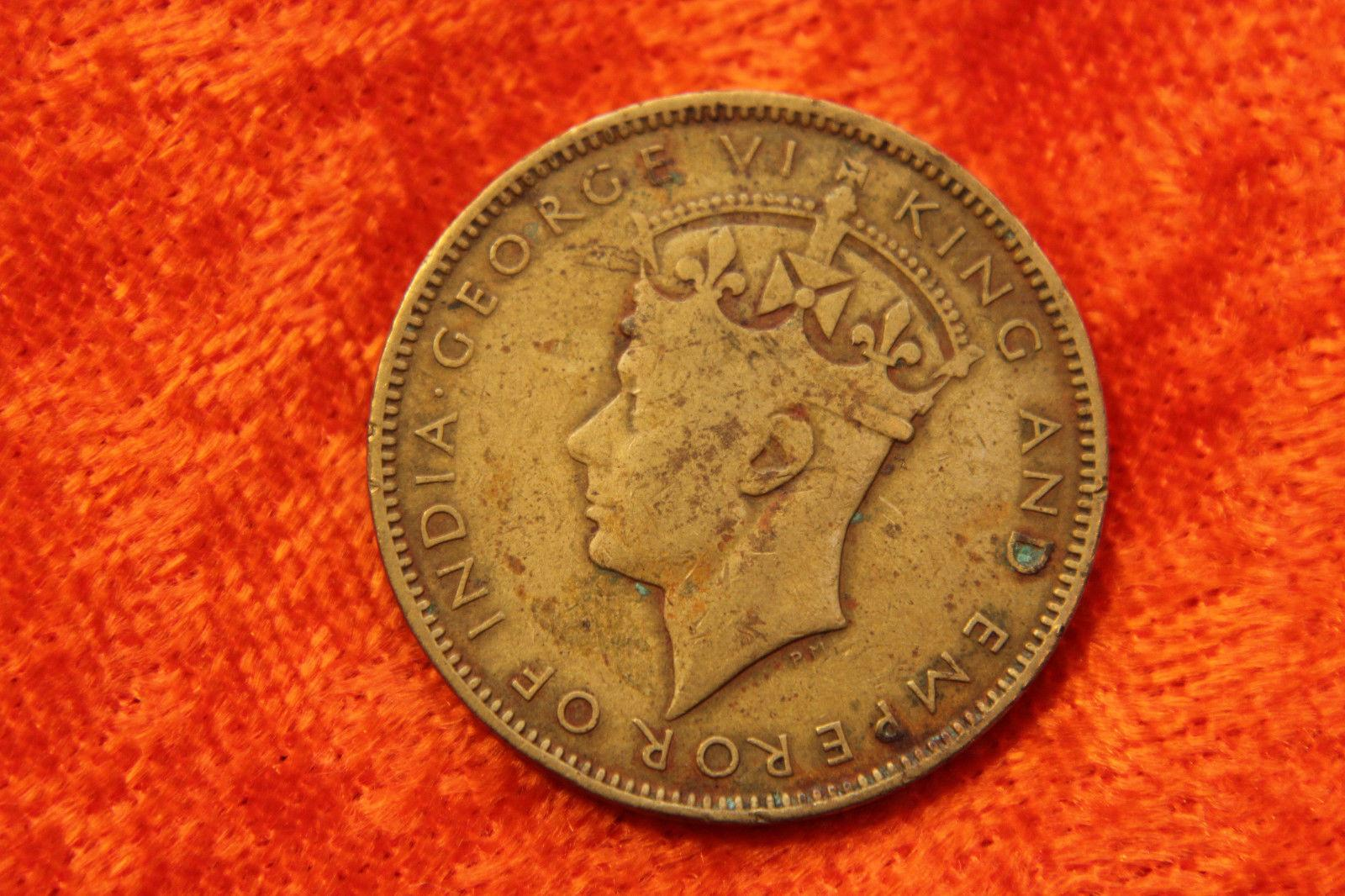 Цена монеты 1 пенни (penny) 1945 года Ямайка: стоимость по аукционам