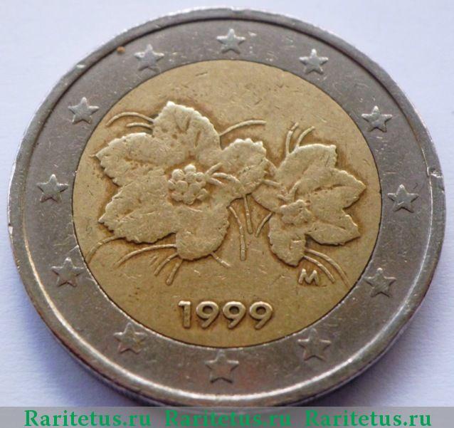 Монета 2 евро 1999 года цена монеты 1812 года
