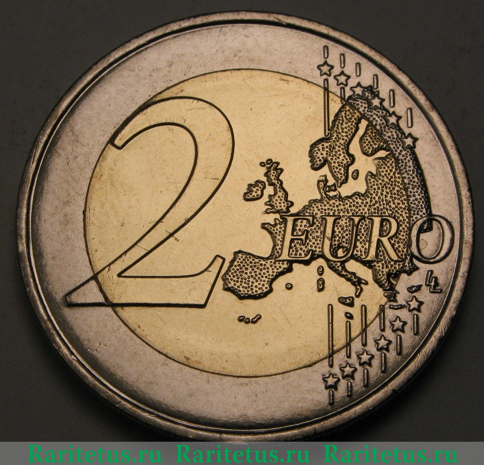 """France 2 euro coin 2014 /""""D-Day 70 years ago/""""  *UNC*"""