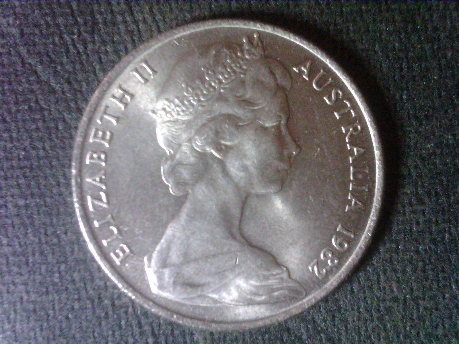 Цена монеты 10 центов (cents) 1982 года Австралия: стоимость