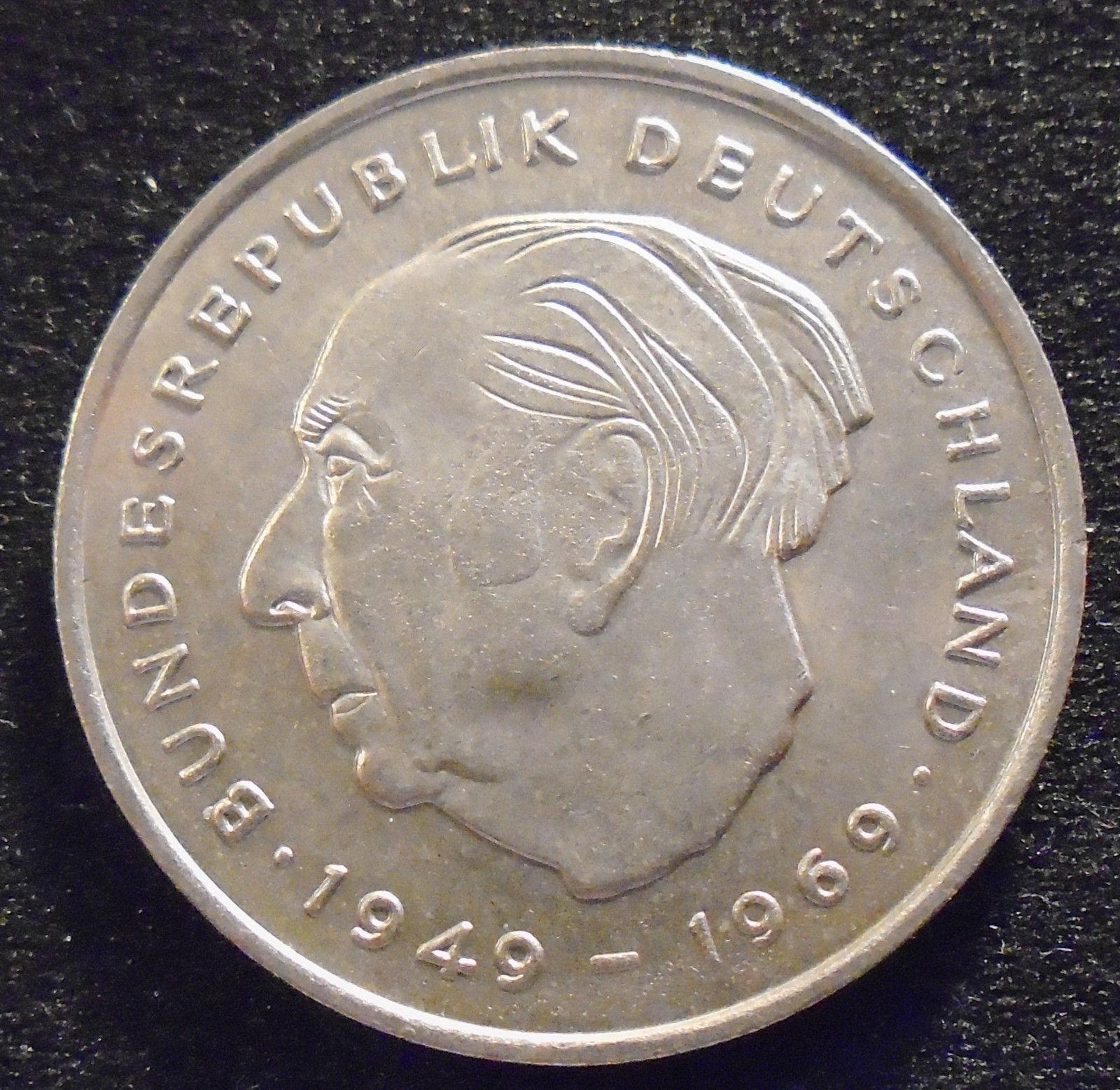 1971 2 deutsche mark coin value
