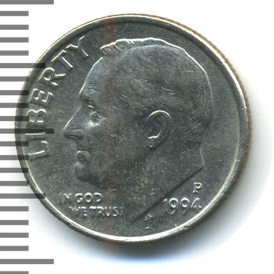 One dime 1994 цена аукцион на красной площади